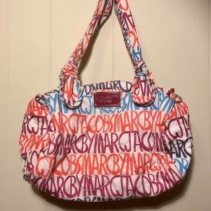 Marc By Marc Jacobs brand writing bag